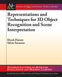 Representations and Techniques for 3D Object Recognition and Scene Interpretation