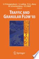 Traffic and Granular Flow   03