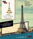 IncrediBuilds  Paris  Eiffel Tower 3D Wood Model