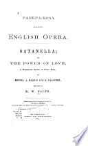 Satanella Or The Power Of Love