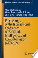Proceedings of the International Conference on Artificial Intelligence and Computer Vision  AICV2020