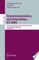 Telecommunications And Networking   ICT 2004 Book