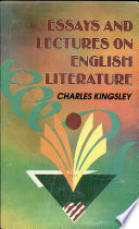 Essays And Lectures On English Literature