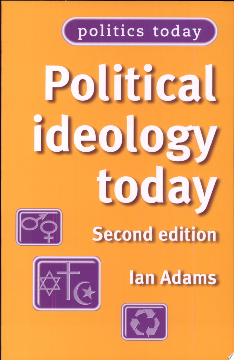 Political Ideology Today banner backdrop