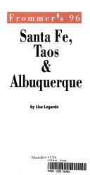 Frommer S Santa Fe Taos And Albuquerque 96
