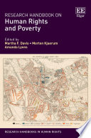 Research Handbook on Human Rights and Poverty