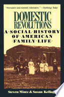 """Domestic Revolutions: A Social History Of American Family Life"" by Steven Mintz, Susan Kellogg"