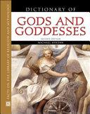 Pdf Dictionary of Gods and Goddesses