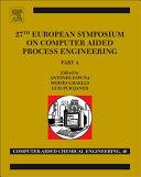 27 European Symposium on Computer Aided Process Engineering