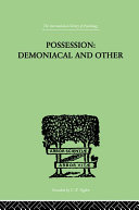 Possession, Demoniacal And Other ebook
