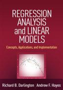Regression Analysis and Linear Models [Pdf/ePub] eBook