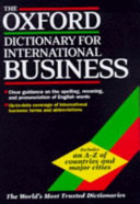 The Oxford Dictionary for International Business