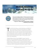 Pdf Defense environmental programs annual report to Congress: Military Munitions Response Program (2002) Telecharger