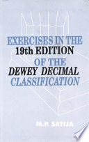 Exercises In The 19th Edition Of The Dewy Decimal Classification