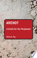 Arendt  A Guide for the Perplexed Book PDF