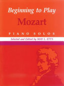 Beginning to Play Mozart