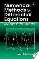 Numerical Methods for Differential Equations Book