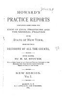 Howard s Practice Reports