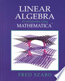 Linear Algebra With Mathematica Book PDF