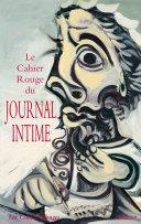 Pdf Le Cahier rouge du journal intime Telecharger