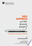 Does Happiness Write Blank Pages  On Stoicism and Artistic Creativity