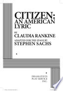 Citizen: An American Lyric