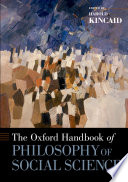 The Oxford Handbook of Philosophy of Social Science