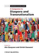Pdf A Companion to Diaspora and Transnationalism Telecharger