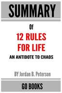 12 Rules For Life An Antidote To Chaos Pdf Pdf [Pdf/ePub] eBook