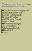 Briefwechsel 1810-1848