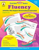 Fluency, Grades 1 - 3