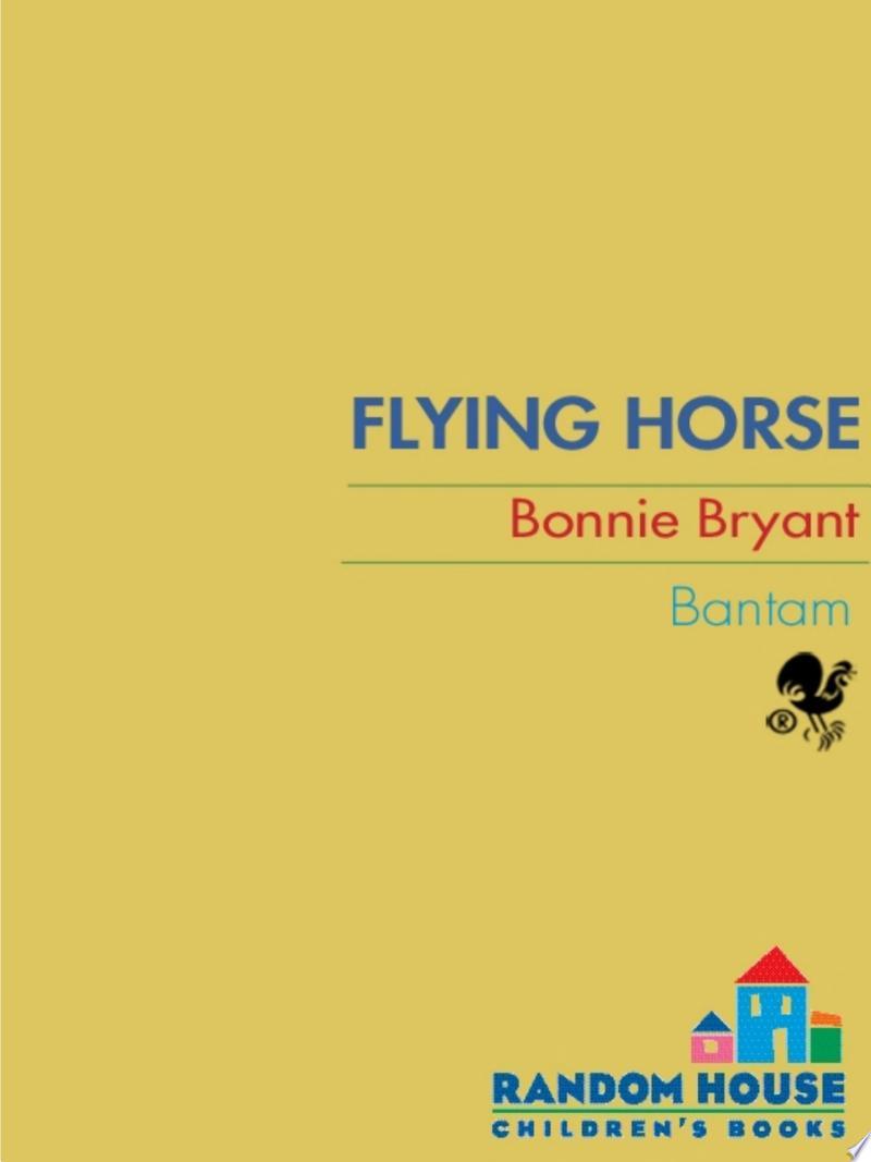 Flying Horse banner backdrop