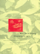 Pdf Art in History/History in Art Telecharger