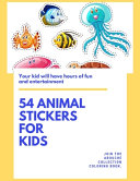 54 Animal Stickers For Kids