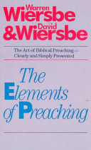 The Elements of Preaching Book