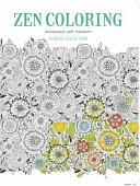 Zen Coloring   Floral Collection