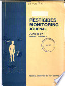Pesticides Monitoring Journal