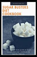 Sugar Busters Diet Cookbook Book PDF
