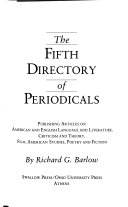 The Fifth Directory Of Periodicals