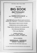 The Little Big Book Dictionary and Concordance for Included Words