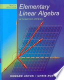 Elementary Linear Algebra, Textbook and Student Solutions Manual