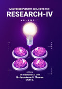 Multidisciplinary Subjects For Research IV  Volume 1
