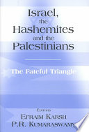 Israel, the Hashemites, and the Palestinians