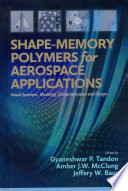 Shape Memory Polymers For Aerospace Applications Book PDF