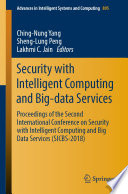 Security with Intelligent Computing and Big data Services