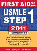 Cover of First Aid for the USMLE Step 1 2011
