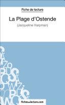 Pdf La Plage d'Ostende de Jacqueline Harpman (Fiche de lecture) Telecharger