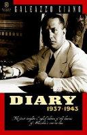 Diary, 1937-1943