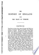 History of England from the Peace of Utrecht  to the Peace of Versailles   etc Book