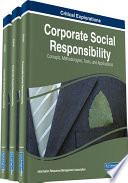 Corporate Social Responsibility Concepts Methodologies Tools And Applications